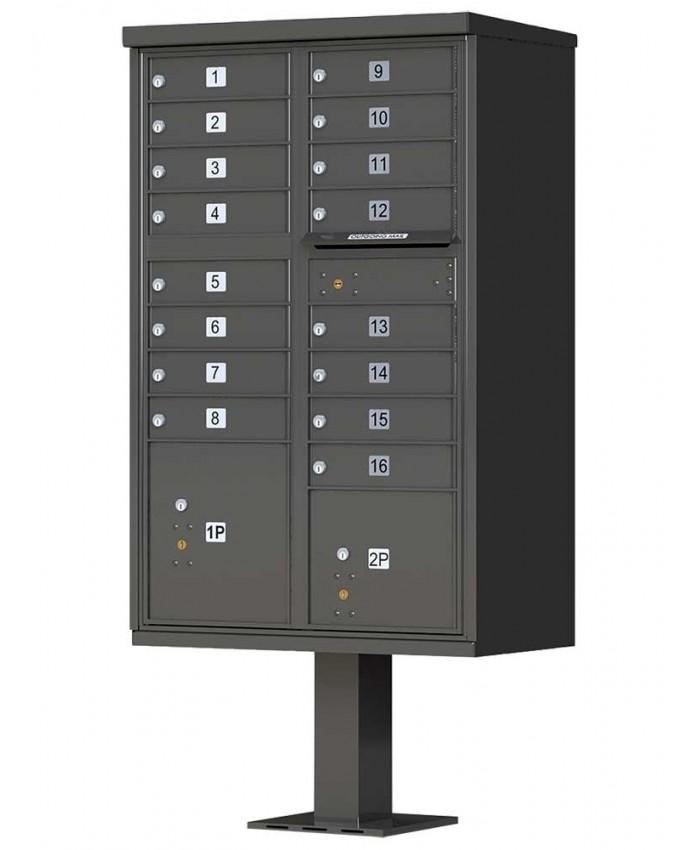 Merveilleux Qualarc 16 Door Mailbox CBU 16